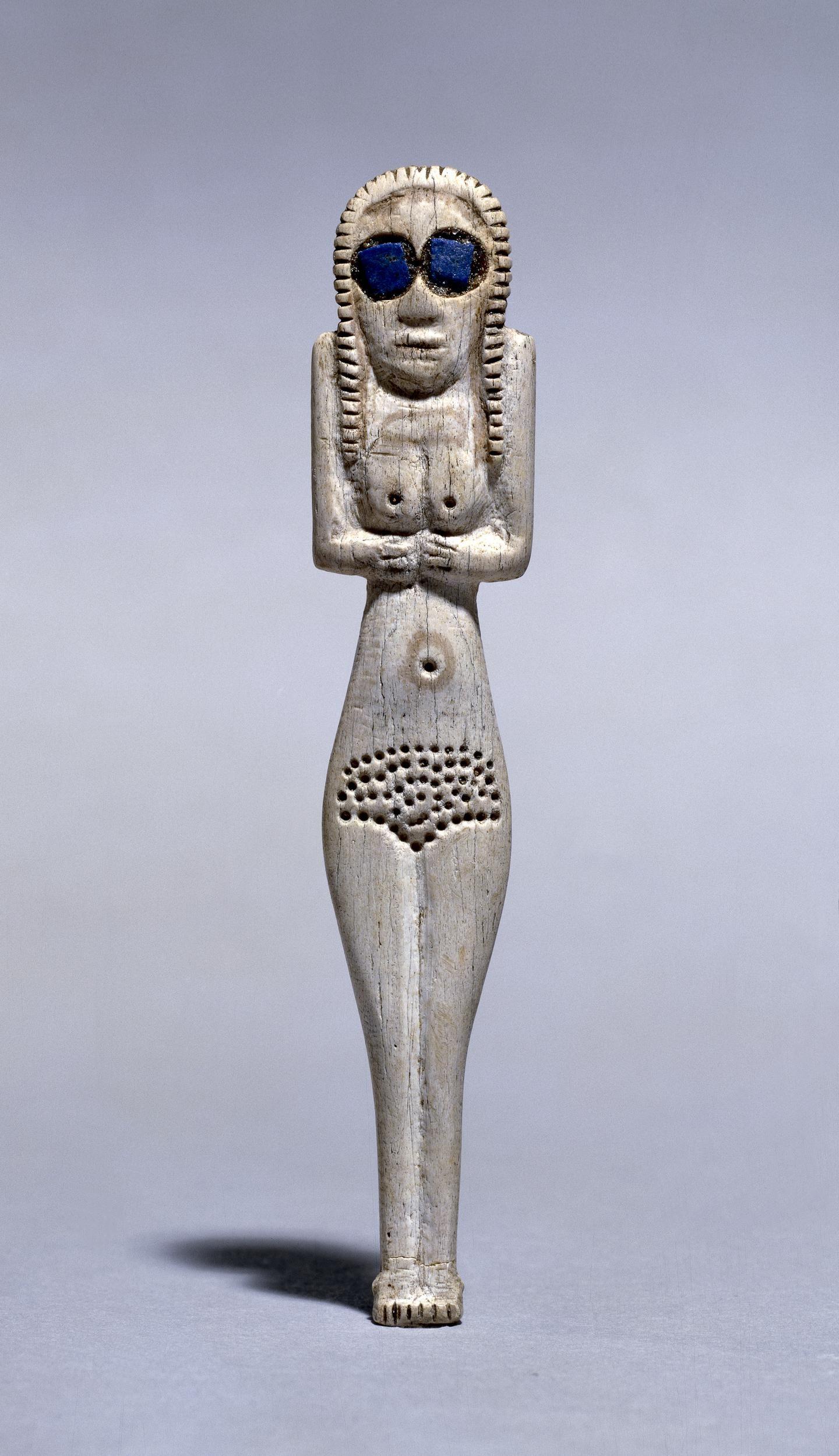 Bone figure of a woman c. 3700–3500