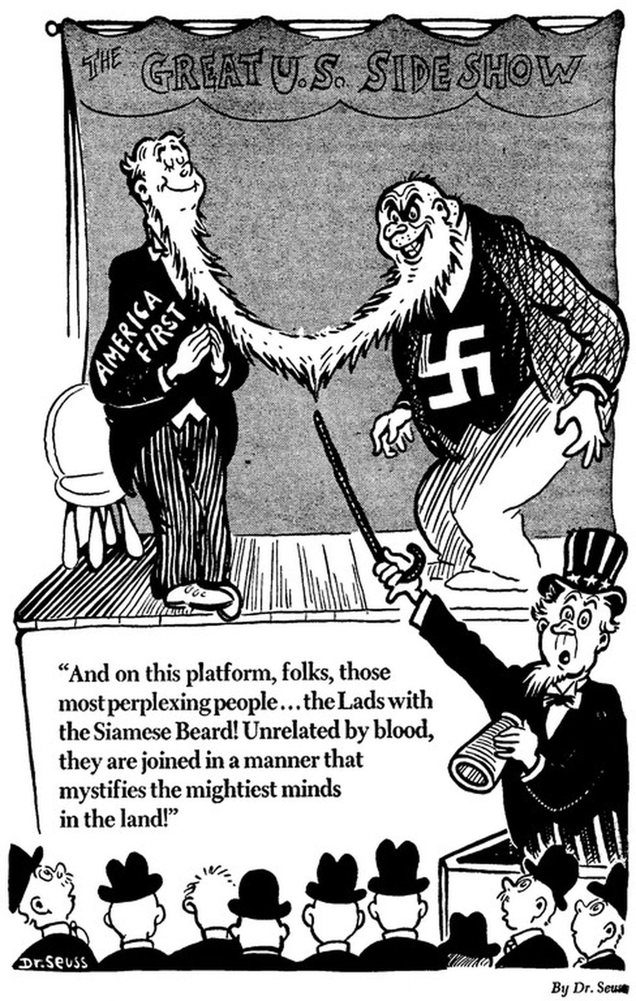 Dr. Seuss on America First 1