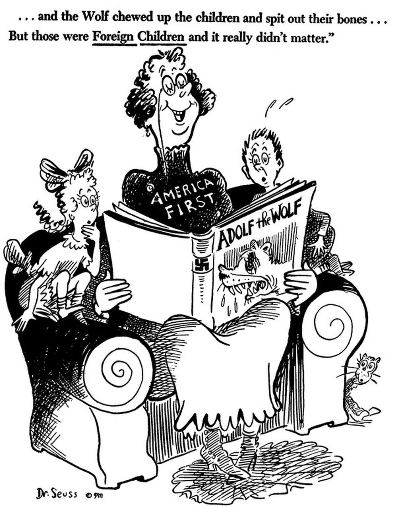 Dr. Seuss on America First 4