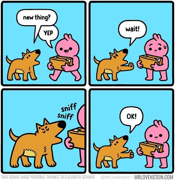 Dog Inspection by Mr. Lovenstein