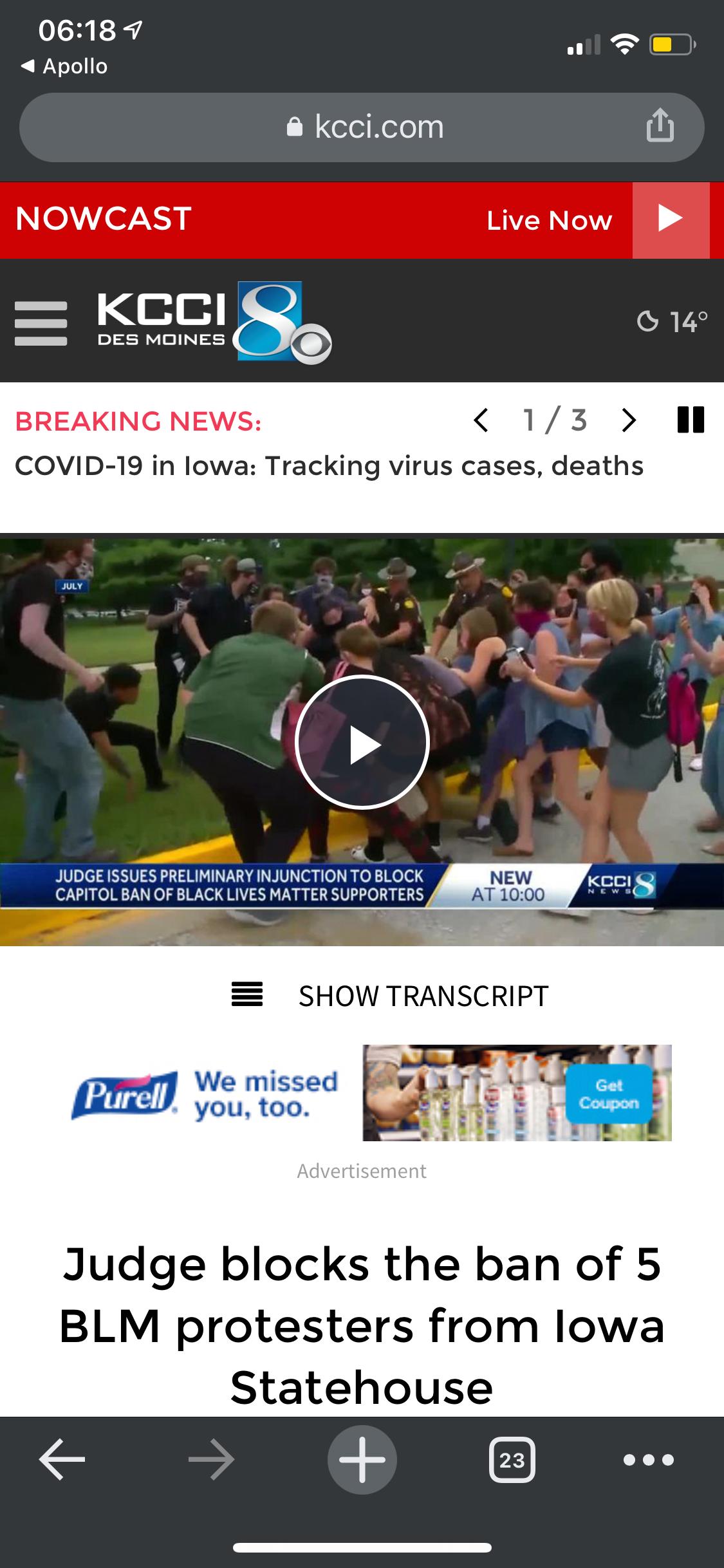 The DSM Register's Website is a Crock of Shit - Screenshot 3