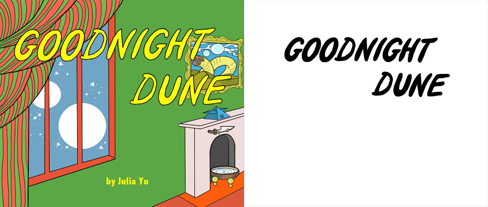 Goodnight Dune by Julia Yu