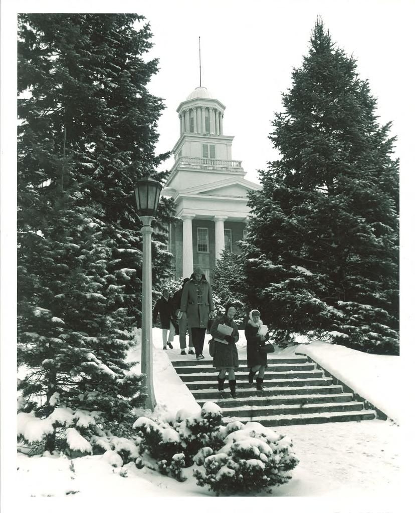 University of Iowa in Winter