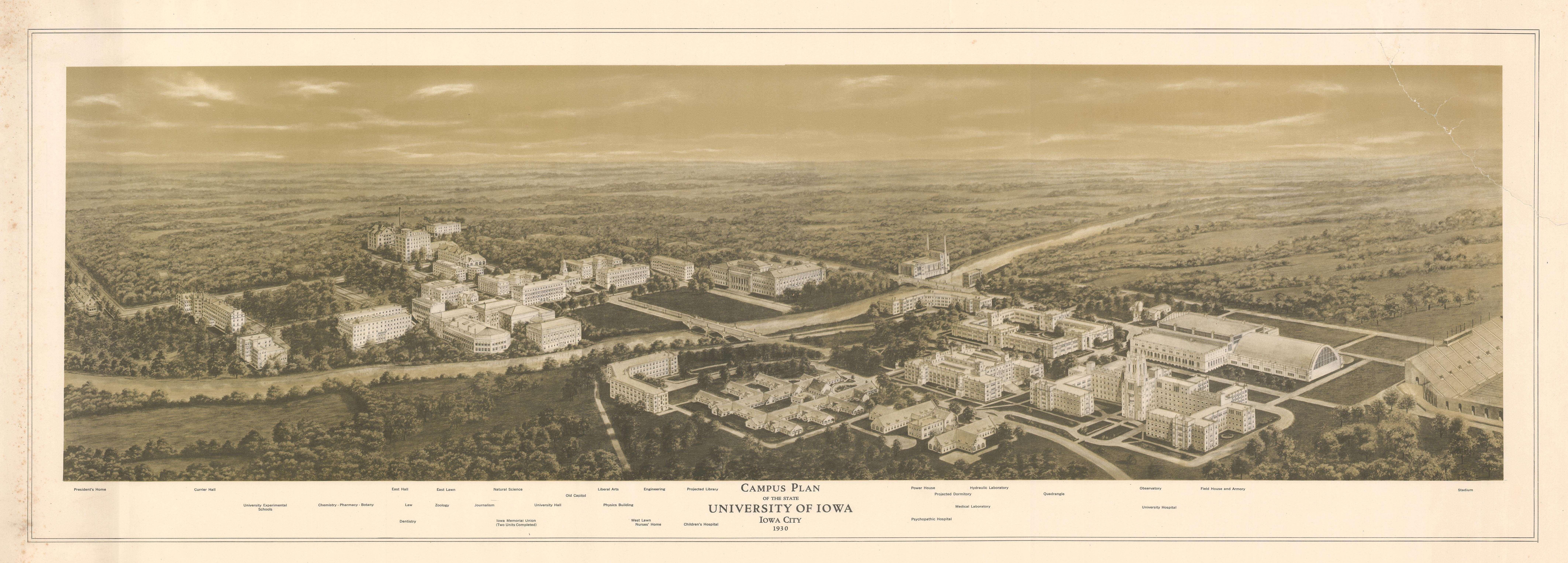 The University of Iowa, 1930