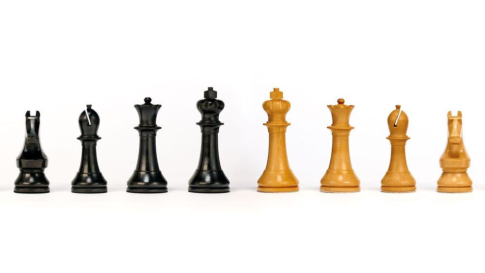 Chess set designed by Michael Weil